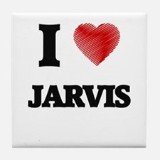I love Jarvis Tile Coaster