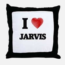 I love Jarvis Throw Pillow