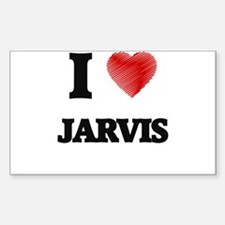 I love Jarvis Decal