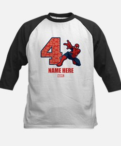 Spider-Man Personalized Birth Tee