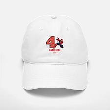 Spider-Man Personalized Birthday Baseball Baseball Cap