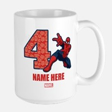 Spider-Man Personalized Birthday Mug