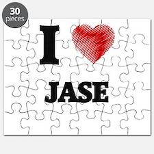 I love Jase Puzzle