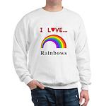 I Love Rainbows Sweatshirt