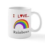 I Love Rainbows Mug