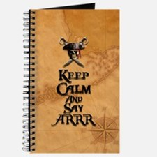 Keep Calm And Say Arrr Journal