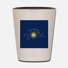 The Conch Republic Flag Shot Glass
