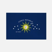 The Conch Republic Flag Magnets