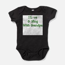 Cool Tiger woods Baby Bodysuit