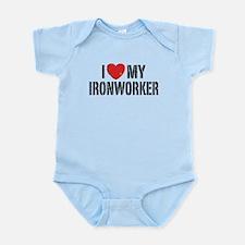 Funny Iron wife Infant Bodysuit
