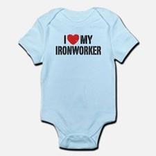 Cute Ironworker wife Onesie