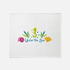 Under The Sea Arch Throw Blanket