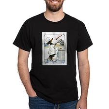 Funny Black tan dachshund T-Shirt