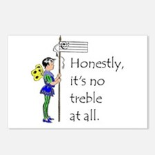 Honesty, it's no treble a Postcards (Package of 8)
