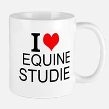 I Love Equine Studies Mugs