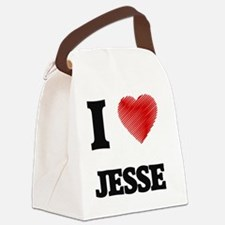 Unique Jesse Canvas Lunch Bag