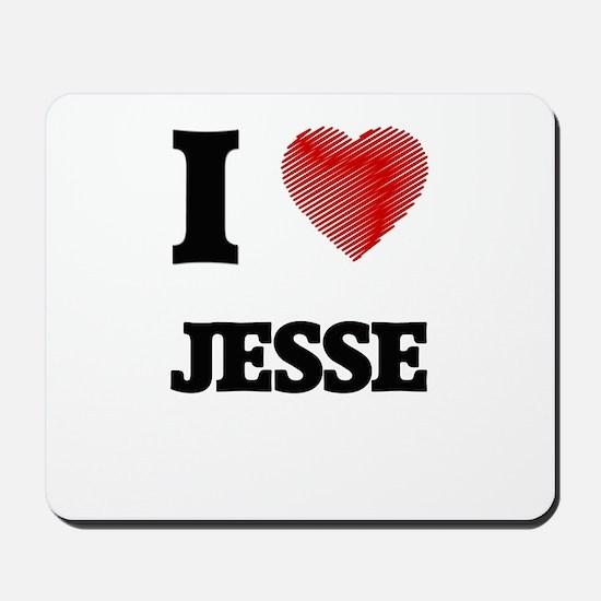 I love Jesse Mousepad