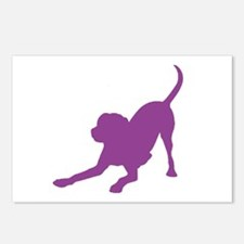 Lab 1C Purple Postcards (Package of 8)