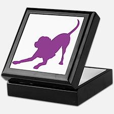 Lab 1C Purple Keepsake Box