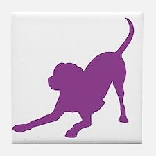 Lab 1C Purple Tile Coaster