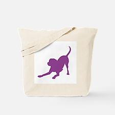Lab 1C Purple Tote Bag