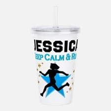 TRACK AND FIELD Acrylic Double-wall Tumbler