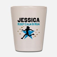 TRACK AND FIELD Shot Glass