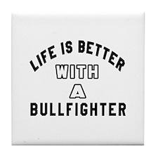 Bullfighter Designs Tile Coaster