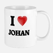 I love Johan Mugs