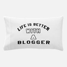 Blogger Designs Pillow Case