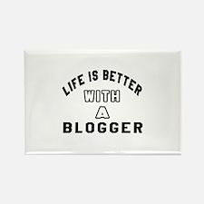 Blogger Designs Rectangle Magnet