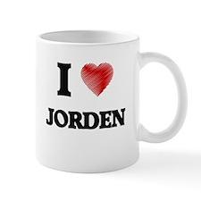 I love Jorden Mugs