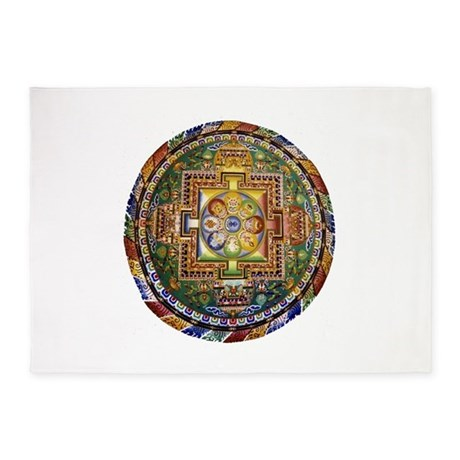 Buddhist Prayer Rug Home Decor