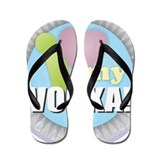 Gin and tonic Flip Flops
