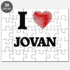 I love Jovan Puzzle