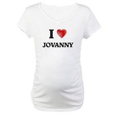 I love Jovanny Shirt