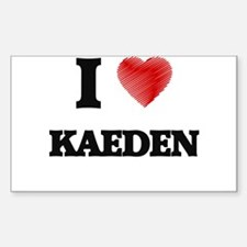 I love Kaeden Decal