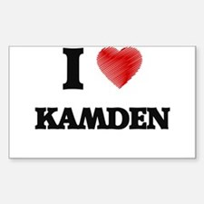 I love Kamden Decal
