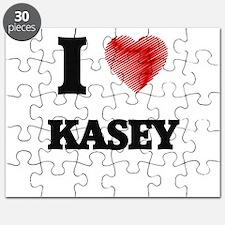 I love Kasey Puzzle