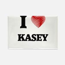 I love Kasey Magnets