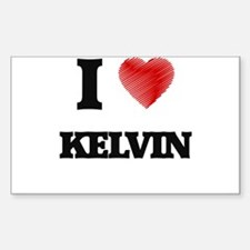 I love Kelvin Decal