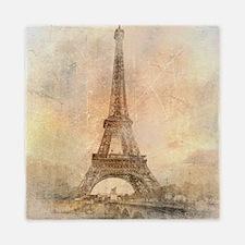 Vintage Paris Queen Duvet