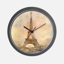 Vintage Paris Wall Clock