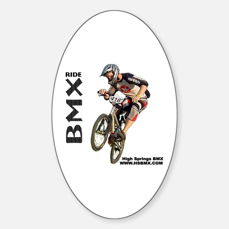 HSBMX416a Oval Decal
