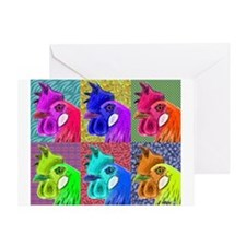 Hens Gone Wild! Greeting Card