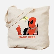 Deadpool Nerds Name Personalized Tote Bag