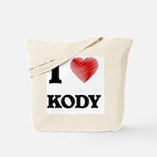 Cute Kody Tote Bag