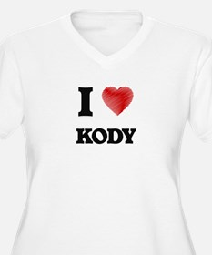 I love Kody Plus Size T-Shirt
