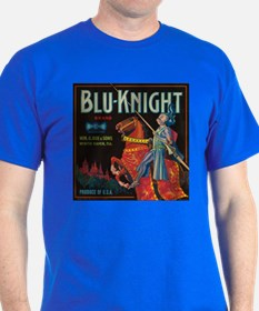 Blu Knight Vintage Crate Labe T-Shirt