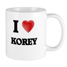 I love Korey Mugs